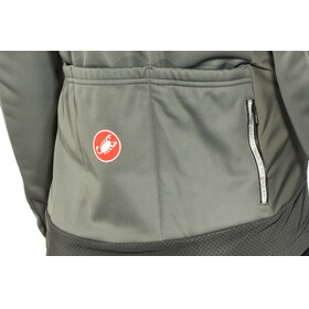 Castelli Raddoppia Jacket Men forest gray